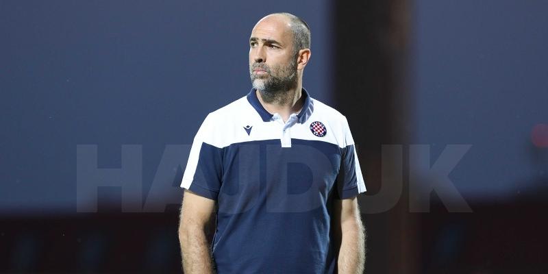 Trener Hajduka Igor Tudor nakon utakmice protiv Gorice