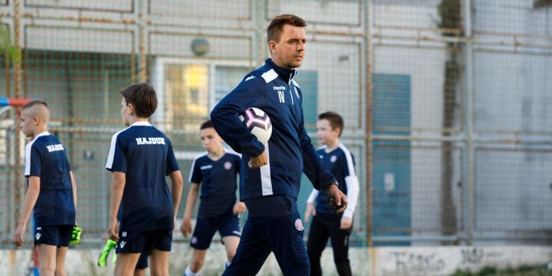Selekcijska utakmica 2011. godišta na Poljudu