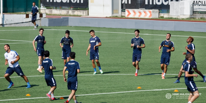 Druga momčad Hajduka započela s pripremama