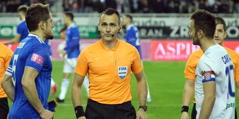 Ivan Bebek po treći put ove sezone sudi derbi između Hajduka i Dinama