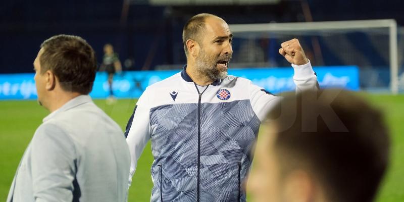 Trener Igor Tudor nakon pobjede protiv Dinama na Maksimiru