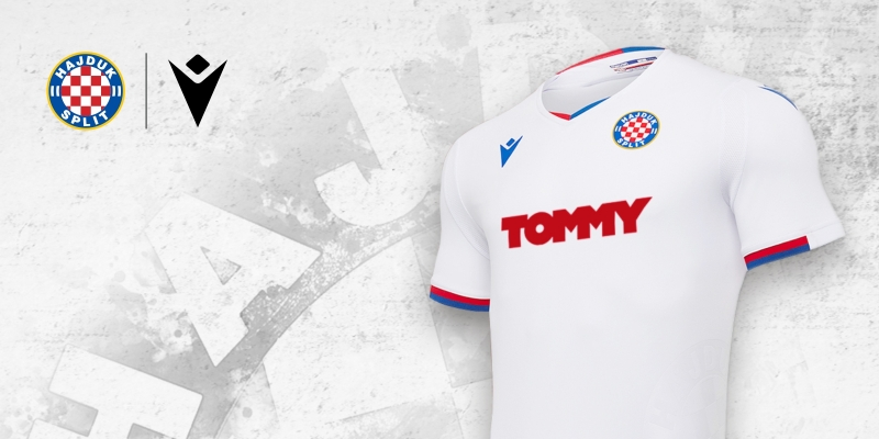 Hajduk and Macron have unveiled the new 2020 - 2021 home shirt