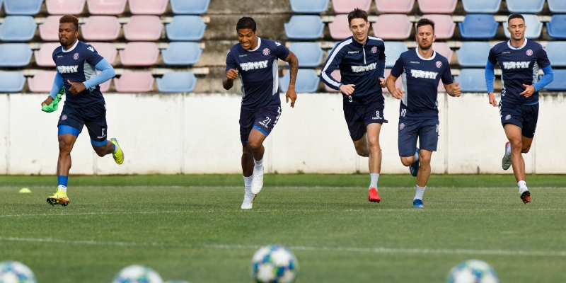 Pre-season preparations start on August 01