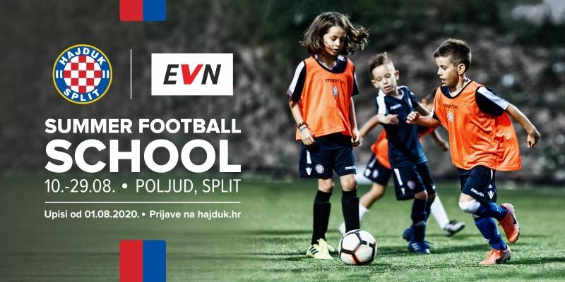 Hajduk&EVN Summer Football School: Kids, enjoy football and have fun with us!