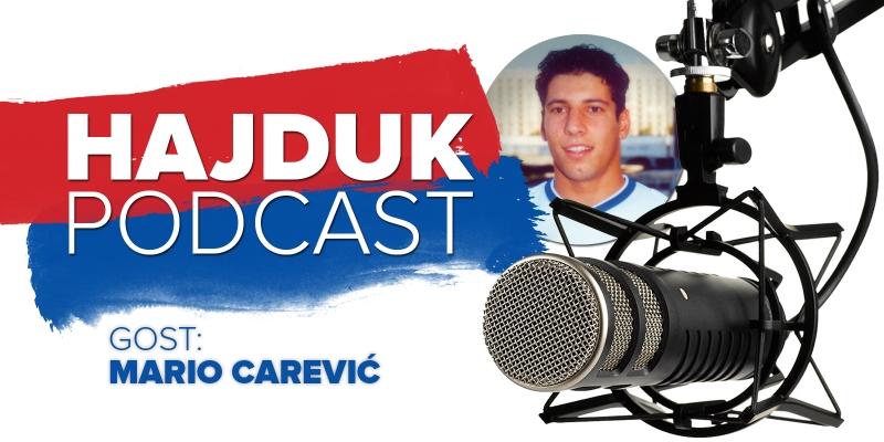 Hajduk Podcast #6: Mario Carević premijerno danas od 14:00 sati