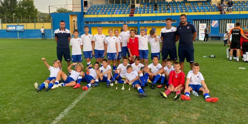 Mlađi pioniri osvojili turnir u Solinu