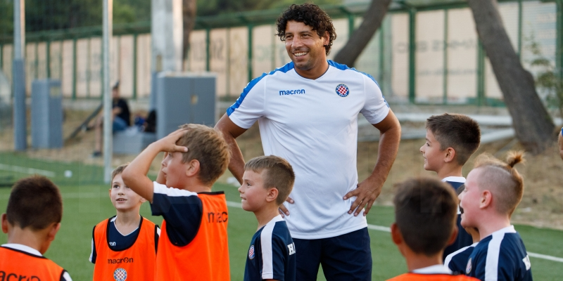 Mario Carević iznenadio polaznike HNK Hajduk&EVN Summer Football School