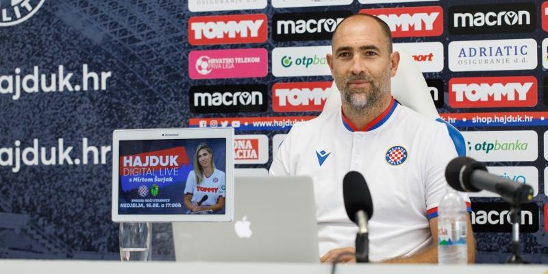 Konferencija za medije trenera Tudora uoči početka nove sezone