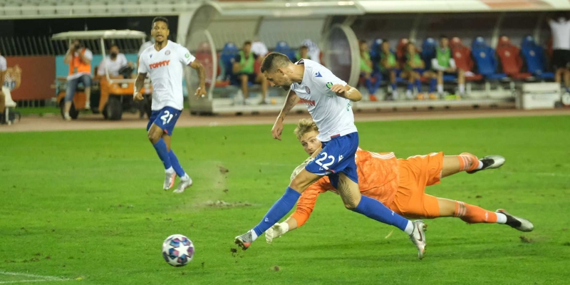Split: Hajduk - Slaven B. 2:2
