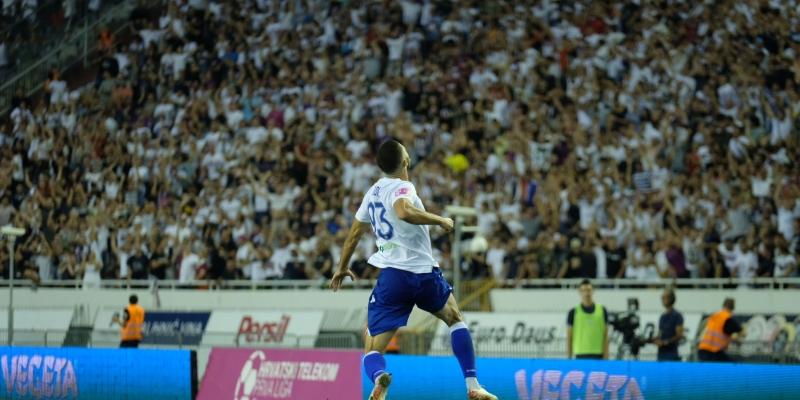 Hajduk danas od 19.05 sati igra protiv Dinama na praznom Poljudu