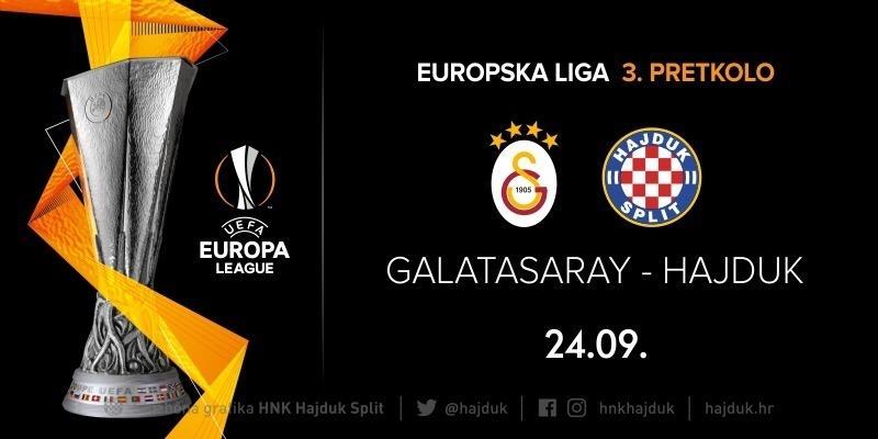 Engleska četvorka sudi utakmicu Galatasaray - Hajduk