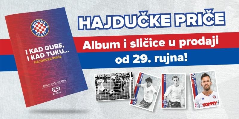 Album sa sličicama ''Hajdučke priče'' od danas u prodaji!