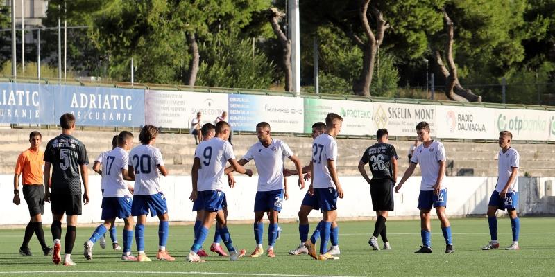 Osma pobjeda za redom: Hajdukovi juniori slavili na gostovanju u Zaprešiću