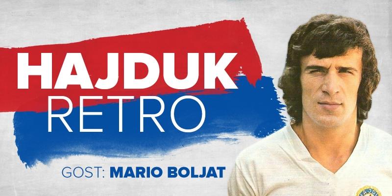 HAJDUK RETRO #7 I Gost: Mario Boljat