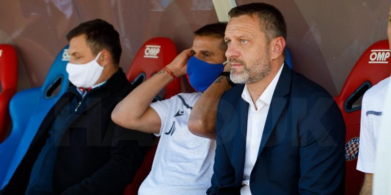 Trener Vukas nakon utakmice Hajduk - Šibenik