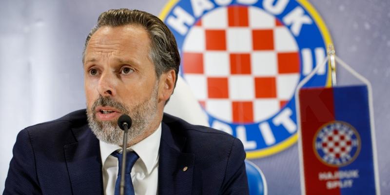 Lukša Jakobušić: I'm here because I want a mighty Hajduk!