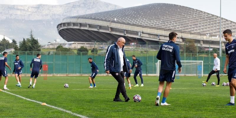 Hajdukovci se na Poljudu pripremaju za nastavak prvenstva