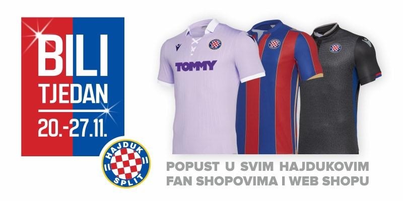 Bili tjedan u Hajdukovim fan shopovima