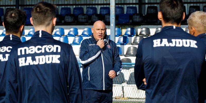 Bijeli danas trenirali u Sigetu: U utorak protiv Lokomotive