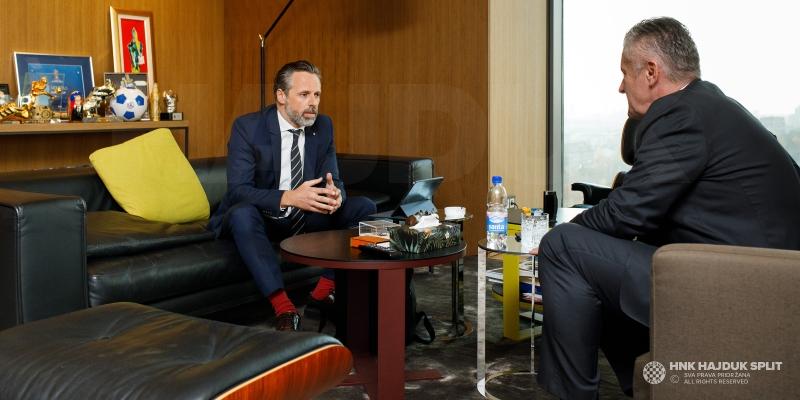 Predsjednik Jakobušić nakon sastanka u HNS-u: Savez je sada na potezu