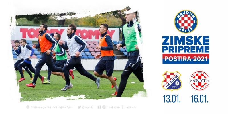 Hajdukovi suparnici u Postirama bit će Solin i Croatia Zmijavci