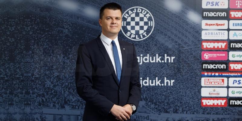 Mindaugas Nikoličius novi je sportski direktor Hajduka!