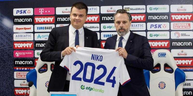 Mindaugas Nikoličius is the new sports director