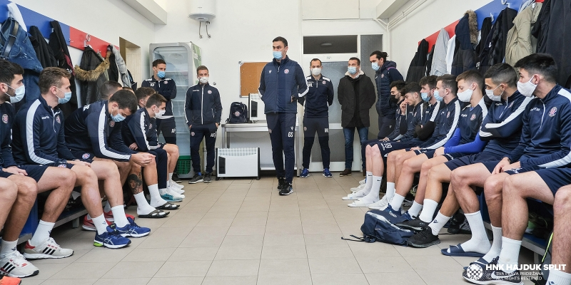 Hajduk II has started preparations for the second part of the season