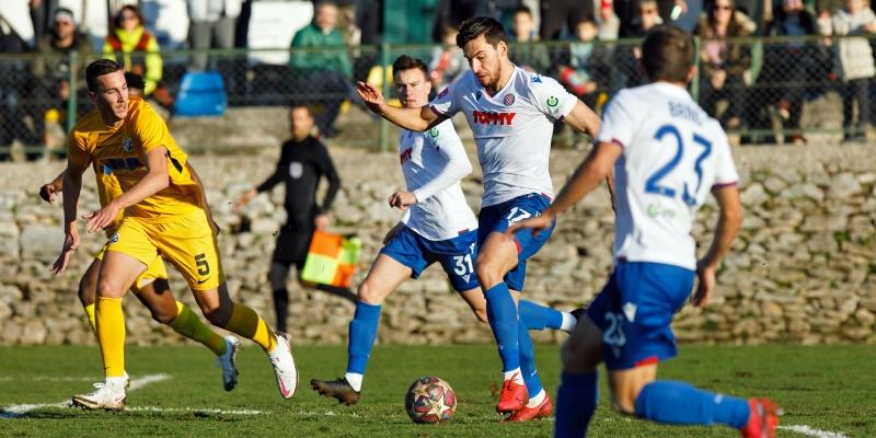 Prva pripremna utakmica: Hajduk - Solin 3:2