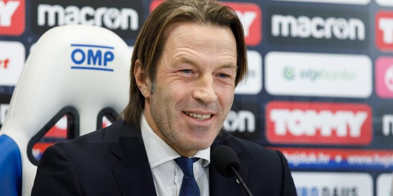 Konferencija za medije trenera Tramezzanija uoči utakmice Rijeka - Hajduk