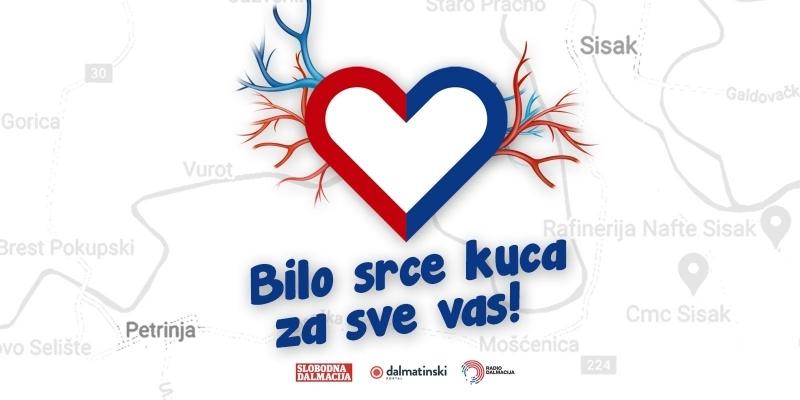 Bilo srce: Montažne kućice za tri obitelji na putu iz Splita za Sisak i Petrinju