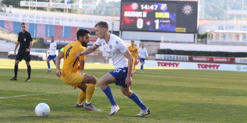 Hajduk II poražen od Solina na Poljudu