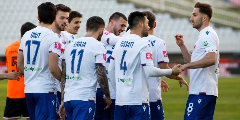 Hajduk danas od 12.55 sati igra protiv Lokomotive u Kranjčevićevoj!