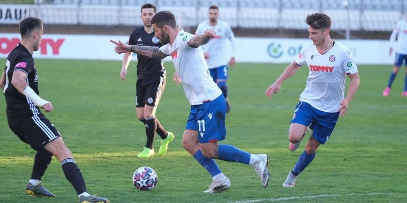 Split: Hajduk - Slaven B. 2-2