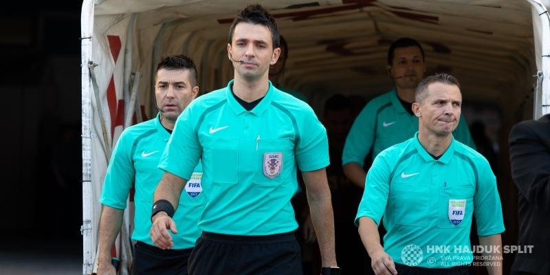 Igor Pajač sudi utakmicu Hajduk - Dinamo