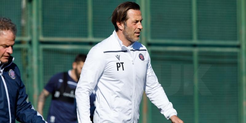 Trener Tramezzani uoči utakmice Hajduk - Dinamo