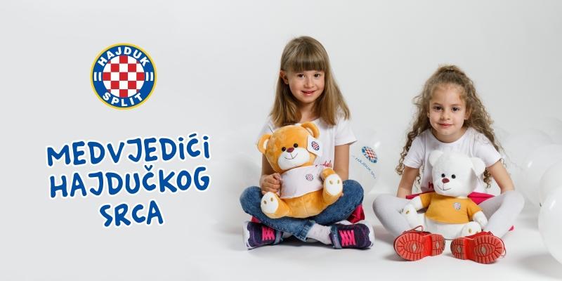 Uvik kad san s tobon ja san ka i dite: U prodaji medvjedići za male hajdukovce!