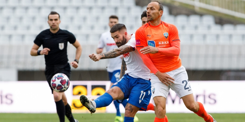 Hajduk u nedjelju igra protiv Šibenika na Šubićevcu