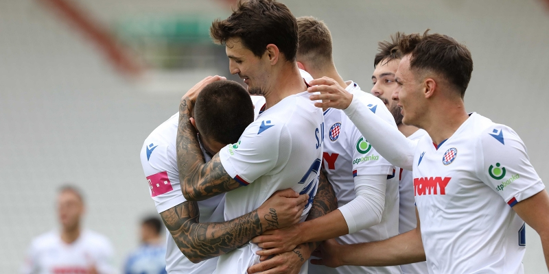 Split: Hajduk - Lokomotiva 2-0