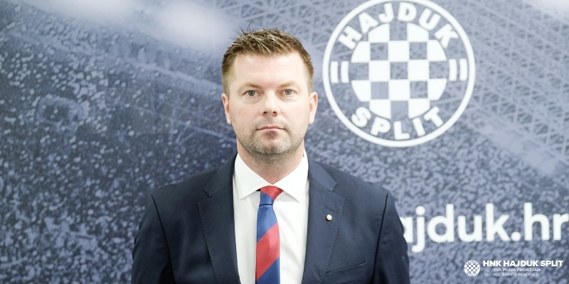 Jens Gustafsson is the new coach of HNK Hajduk
