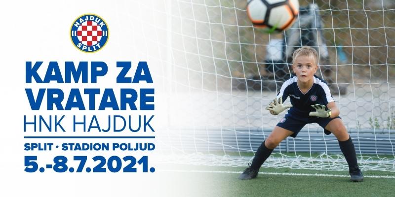 """HNK Hajduk u srpnju organizira """"Nogometni kamp za vratare"""""""