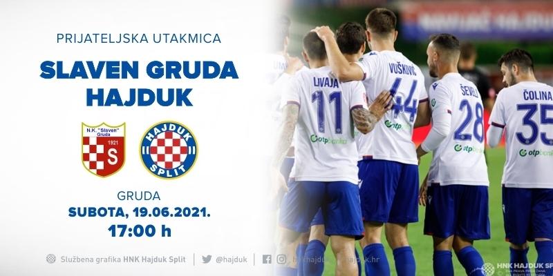 Prvi pripremni ogled: Hajduk gost na proslavi 100. rođendana HNK Slaven Gruda