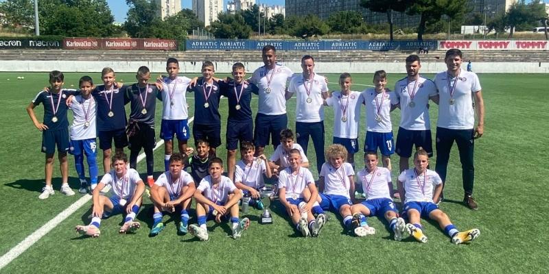 Hajdukovi mlađi pioniri prvaci 1. NL Središta Split