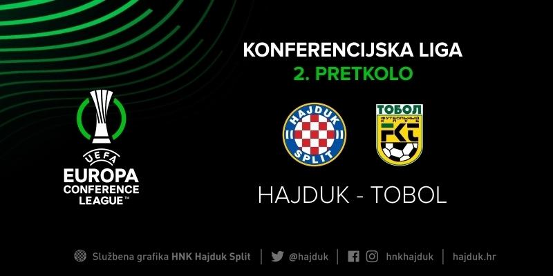 Hajduk u 2. pretkolu Konferencijske lige igra protiv FC Tobol iz Kazahstana