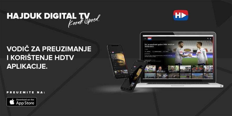 Upute za preuzimanje i korištenje HDTV aplikacije