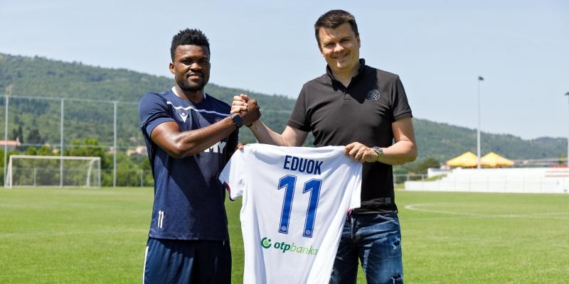 Samuel Eduok produžio ugovor s Hajdukom do ljeta 2023.!
