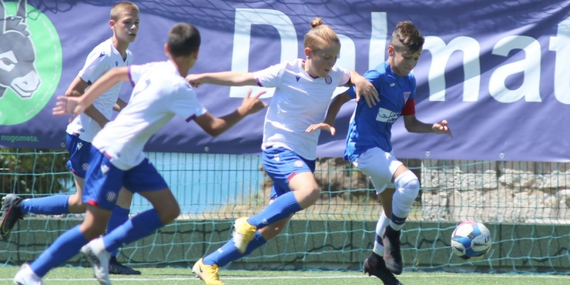 Dalmatinko Cup: Hajduku pet prvih mjesta, mlađi početnici u finalu pobijedili Dinamo s 9:4