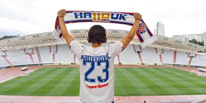 Prvi dojmovi Filipa Krovinovića: Napokon sam tu i jako sam sretan!