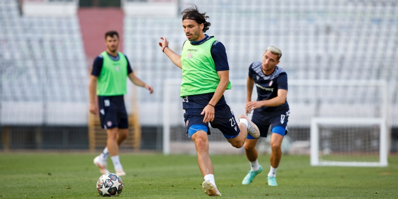 Krovinović prvi put trenirao s Bijelima