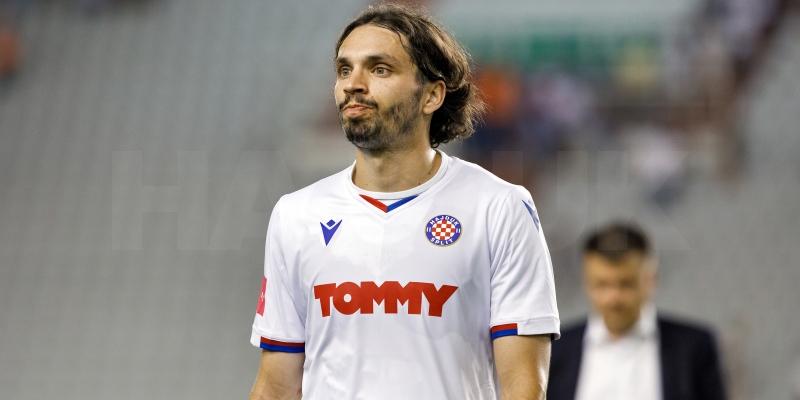 Filip Krovinović nakon utakmice Hajduk - Osijek